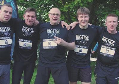 Rigtige Mænd Løbet – 24. maj 2017